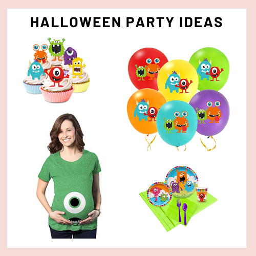 halloween party, kids halloween party, cute monster party,
